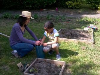 Atelier de jardinage Maison des familles