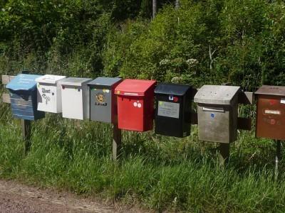 Photo de boîte aux lettres contact